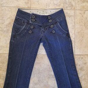 Zana Di Jeans - Zana Di Great Condition Flare Stretchy Blue Jeans